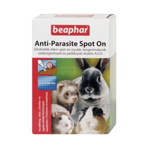Beaphar Anti-Parasite Spot On élősködök elleni csepp (nyúl/tengerimalac/görény/patkány)