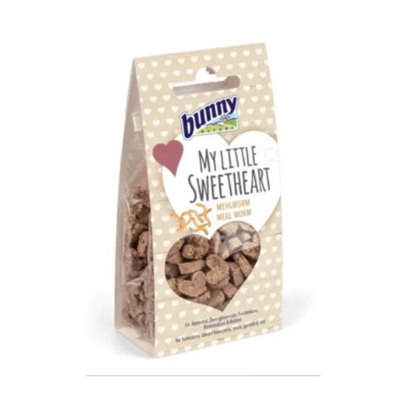 bunnyNature My little sweetheart mealworm - Lisztkukaccal 30g