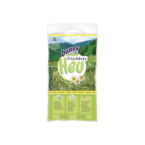 bunnyNature FreshGrass Hay with Camomile Kamillás 500g