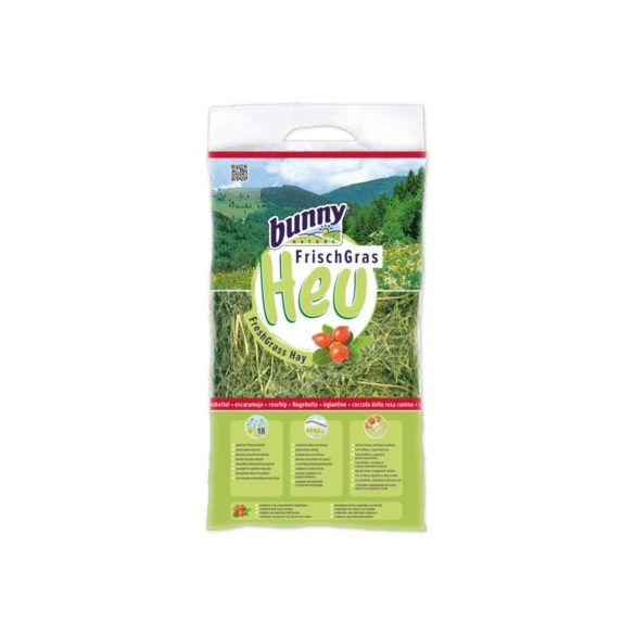 bunnyNature FreshGrass Hay with Rosehip Csipkebogyóval 500g