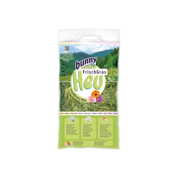 bunnyNature FreshGrass Hay with Blossoms Virágokkal 500g