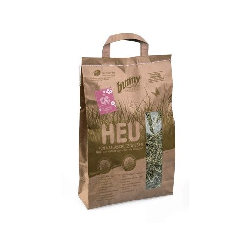 bunnyNature Hay from Nature Conservation Meadows with meadow flowers Mezei virágokkal 250g