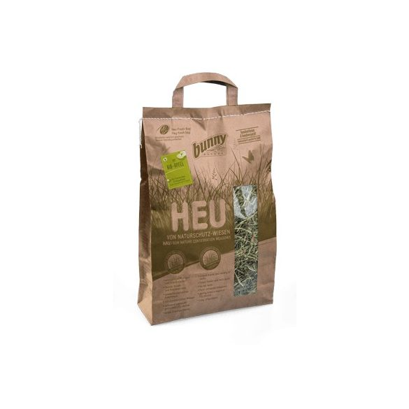 bunnyNature Hay from Nature Conservation Meadows with organic apple pieces Almás 250g