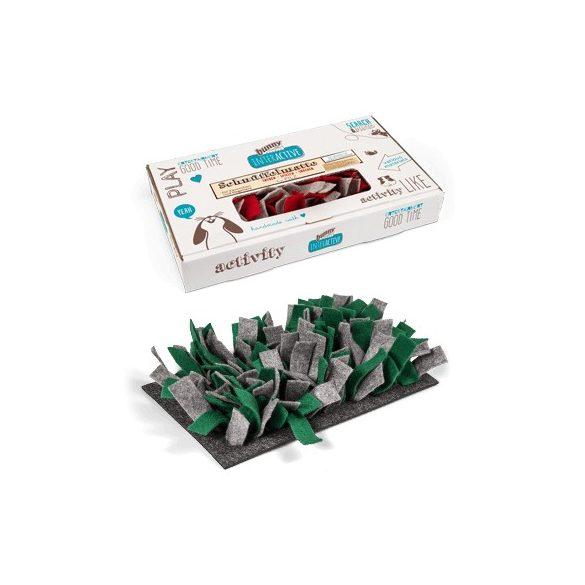 bunnyInteractive Snufflemat Felt (grey-green) 15x28 cm