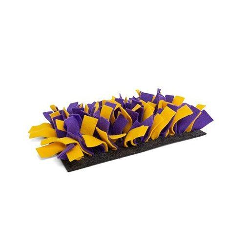 bunnyInteractive Snufflemat Felt (purple-yellow) 15x28cm