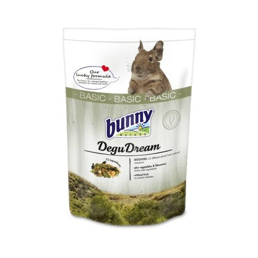 bunnyNature DeguDream BASIC táp 600 g