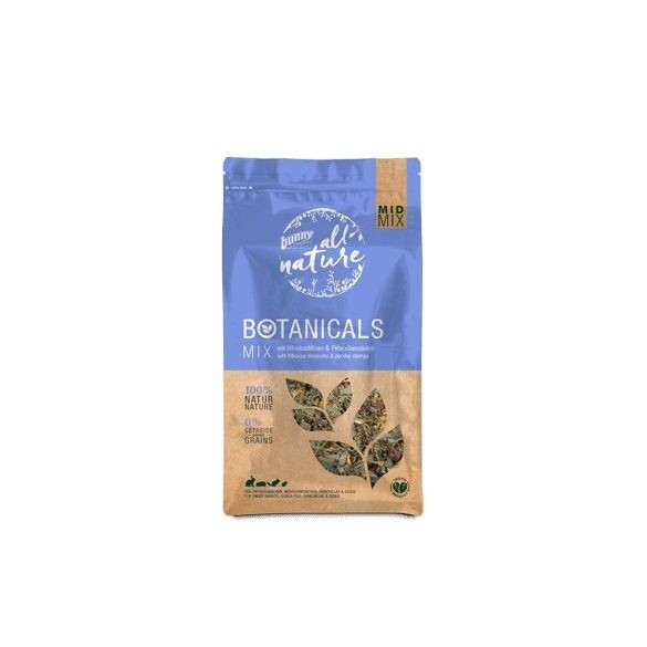 bunnyNature »all nature« BOTANICALS Mix with hibiscus blossoms & parsley stemps 150g