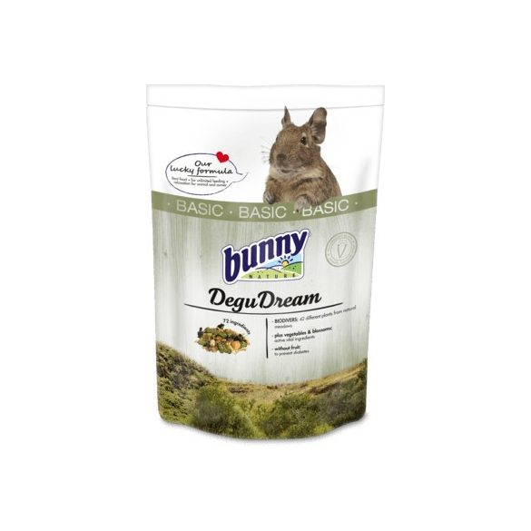 bunnyNature DeguDream BASIC táp 1,2 kg
