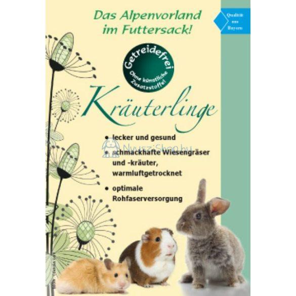 AGROBS Kräuterlinge - Széna/gyógynövény pellet 12,5 kg