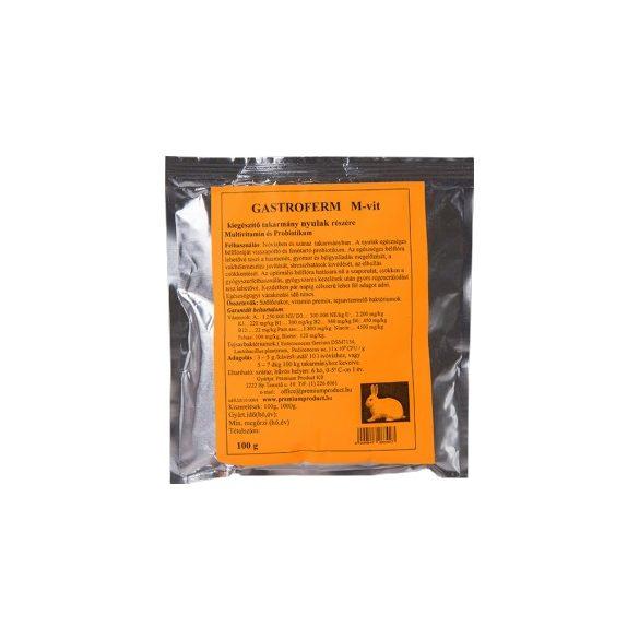 Gastroferm M-vit nyulaknak 100g
