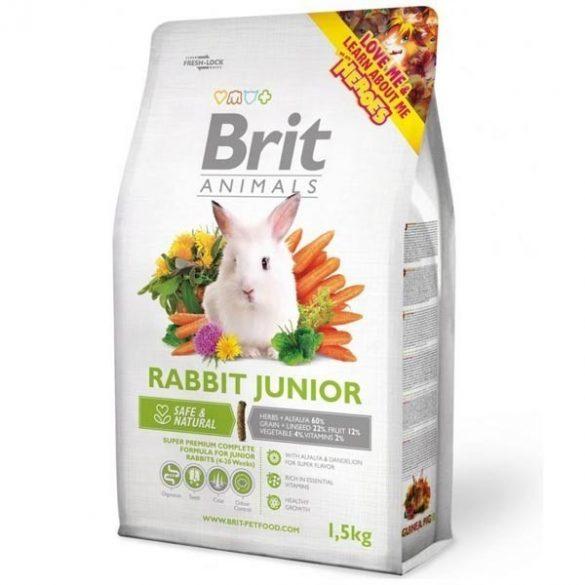 Brit Animals RABBIT JUNIOR Complete - Teljes értékű nyúltáp fiatal nyulaknak 1,5 kg