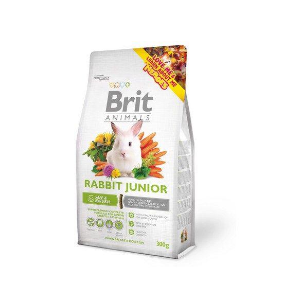 Brit Animals RABBIT JUNIOR Complete - Teljes értékű nyúltáp fiatal nyulaknak 300g