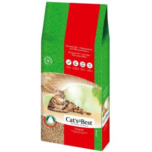 Chipsi Cats Best Alom Original Természetes növényi alom 17,2 kg