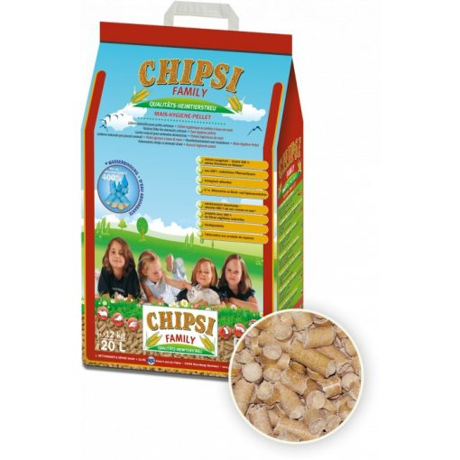 Chipsi Family pelletalom 20L/12kg