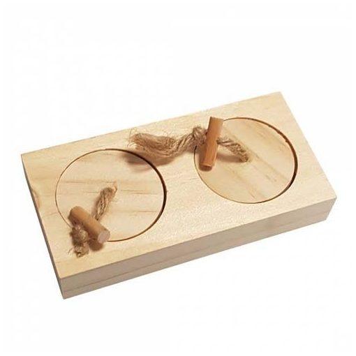 DUVO+ CAS Logikai játék fábólkisállatoknak