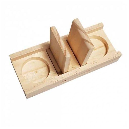 DUVO+ EDD Logikai játék fából jutalomfalat doboz 18x7x2,5cm