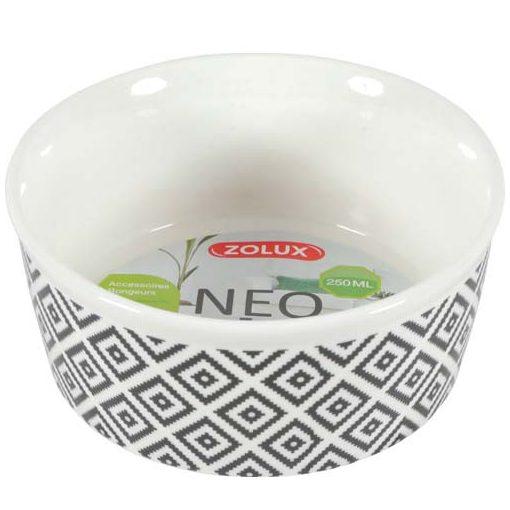 ZOLUX NEO Sandstone Kerámia tál 250 ml fehér/szürke