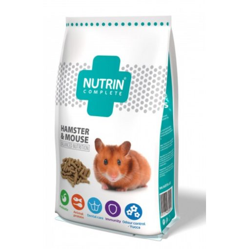 Nutrin Complete Hamster & Mouse 400g