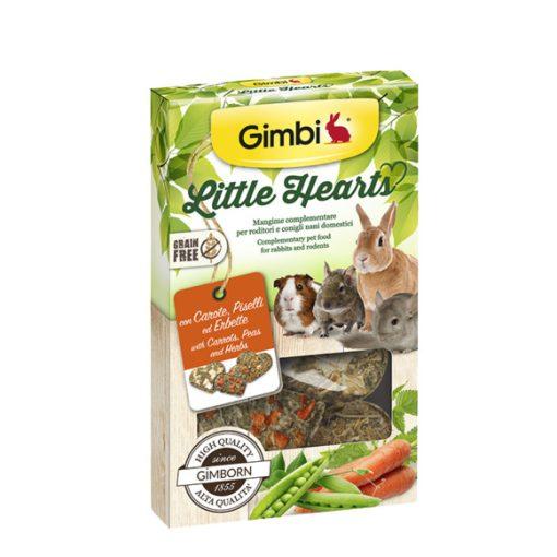 Gimbi Little Hearts - Gabonamentes kis szívek répával 115g