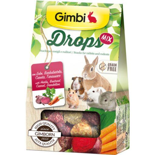 Gimbi Drops MIX - Gabonamentes csemege 50g