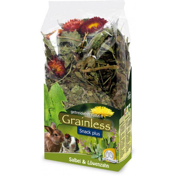 JR Farm Grainless Plus Zsálya és gyermekláncfű 100g