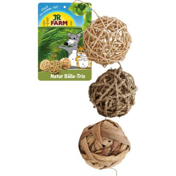 JR Farm Nature Balls-trio labdajáték Ø 8 cm