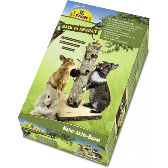 "JR Farm Small Animal ""BtI"" Nature Active-Tree/ Aktív fa"
