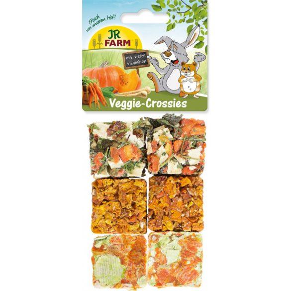 JR Veggie-Crossies Zöldségkockák 100 g