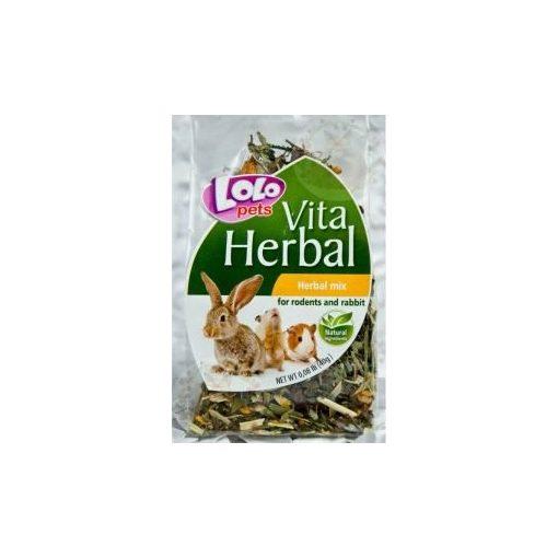 LoloPets Vita Herbal Mix Rágcsálónak és Nyúlnak 40g