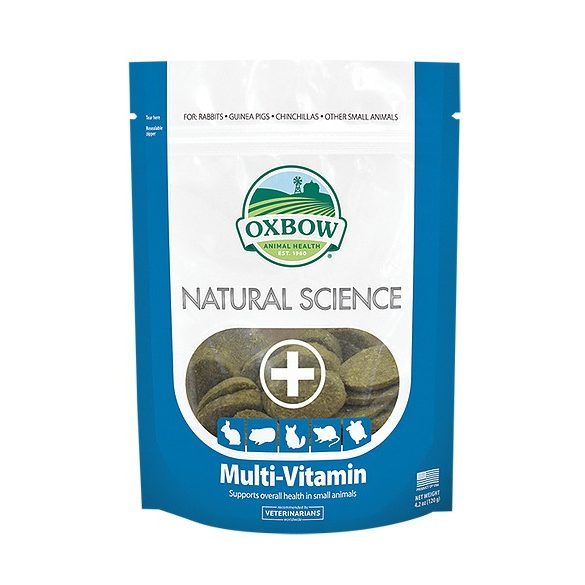 Oxbow Natural Science Multi-Vitamin 120g