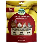 Oxbow Simple Rewards Banana Treats - Szárított banán 30g