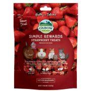 Oxbow Simple Rewards Strawberry Treats - Szárított földieper 15g