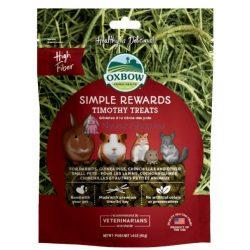 Oxbow Simple Rewards Timothy Treats - Réti szénás 40g