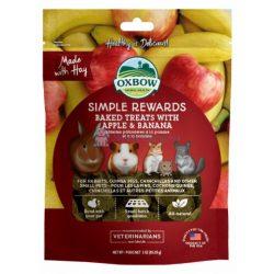 Oxbow Simple Rewards Apple Banana - Almás banános 60g