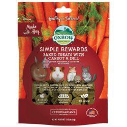 Oxbow Simple Rewards Carrot and Dill - Répás kapros 60g