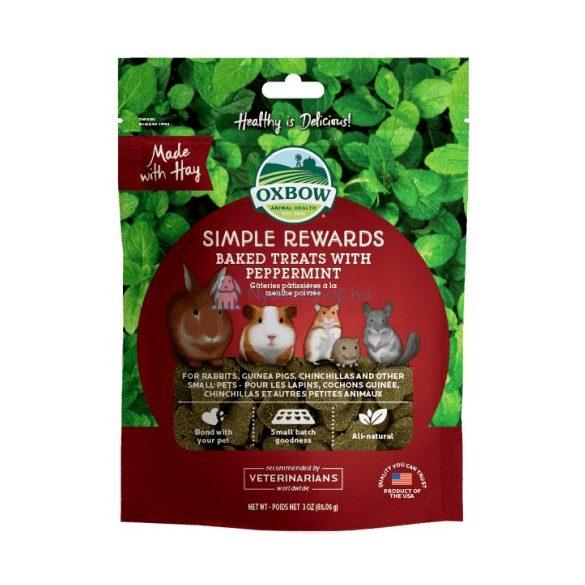 Oxbow Simple Rewards Peppermint - Borsmentás 40g