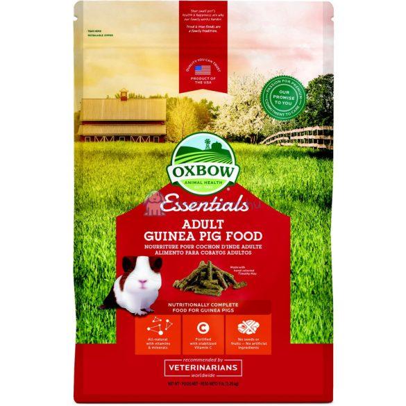 Oxbow Essentials Adult GuineaPig - teljes értékű táp felnőtt tengerimalacoknak 4,5 kg