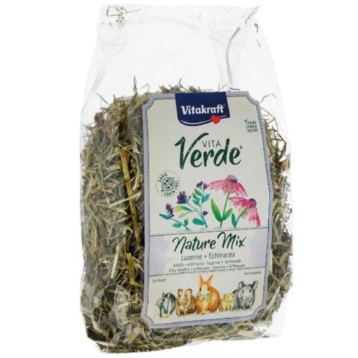 Vitakraft VitaVerde Nature MIX Lucerna & echinacea 125g