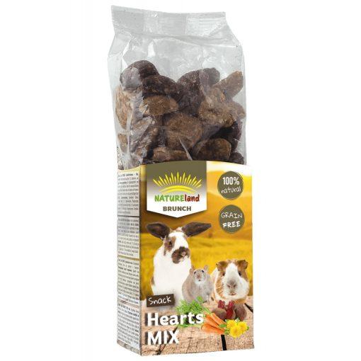 NatureLand BRUNCH Gabonamentes szívek Vegyes Mix 150 g