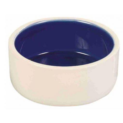 Trixie 2450 Kerámiatál Fehér/Kék ø 12 cm