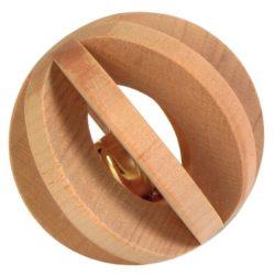 Trixie 6187 játék fagolyó csörgõvel 6cm