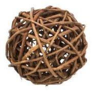Trixie 61942 Wicker Ball - fonott vesszőlabda Ø 10cm
