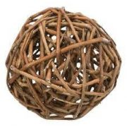 Trixie 61943 Wicker Ball - fonott vesszőlabda Ø 10cm