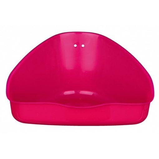 Trixie 62551 Sarok WC közepes rózsaszín