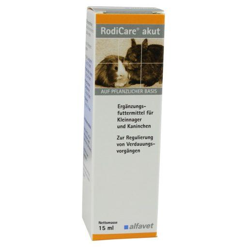 RodiCare® Akut - Gyors segítség rágcsálóknak emésztési panaszok esetén 15 ml